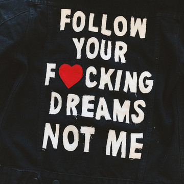 THE FOLLOWER BLACK DENIM JACKET