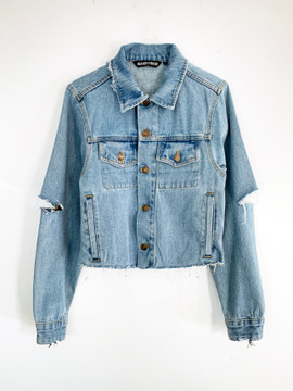 TROUBLEMAKER DENIM JACKET
