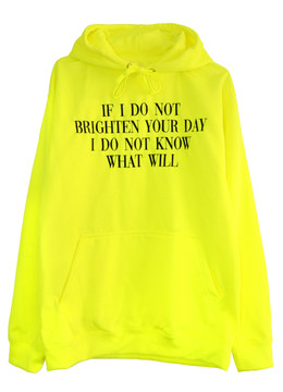 A HOODIE TO BRIGHTEN YOUR DAY