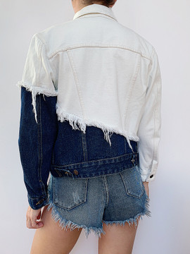 UNDER DECONSTRUCTION DENIM JACKET