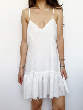 FRAYED ANGEL DRESS