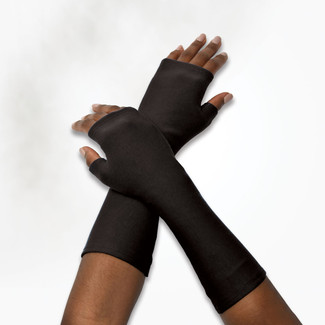 Organic Cotton Fleece Arm Warmers