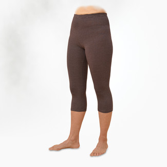 Organic Cotton Stripe Leggings - Midcalf - Clearance