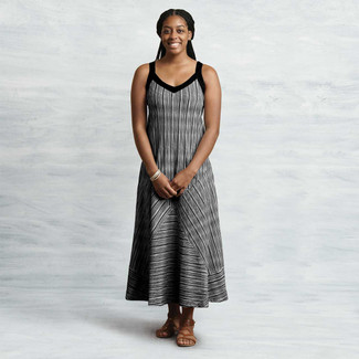 Organic Cotton Two-Way Maxi Dress