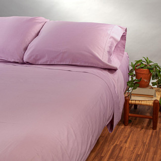 Organic Cotton Sateen Sheet Set