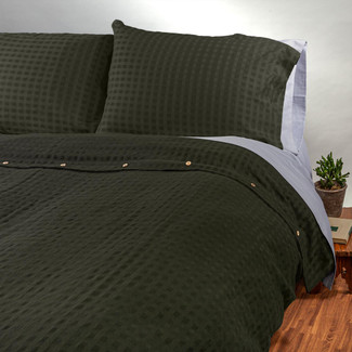 Organic Cotton/Linen Duvet Cover