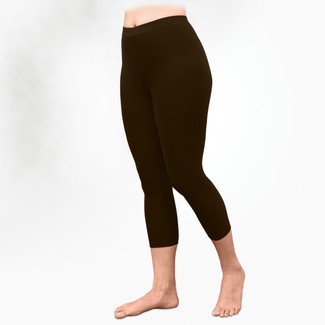 Organic Cotton Basic Leggings - Midcalf - Clearance