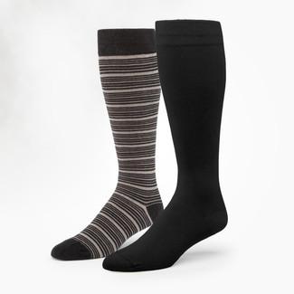 Organic Cotton Socks - Compression 2 Pak