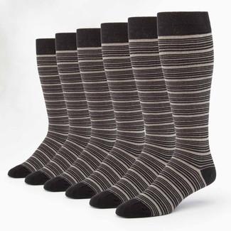Organic Cotton Socks - Compression 6 Pak
