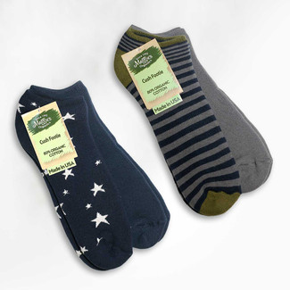 Organic Cotton Footie Socks - 2-Pak - Clearance