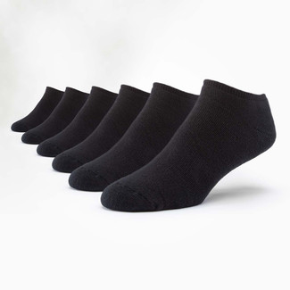 Organic Cotton Socks - Footie 6 Pak