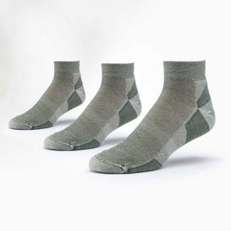 Organic Wool Socks - Urban Hiker Ankle 3 Pak