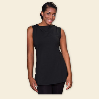 Organic Cotton Sleeveless Tunic - Clearance