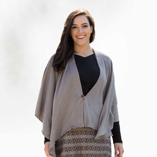 Organic Cotton Poncho - Clearance