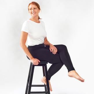 Organic Cotton Ribbed Leggings