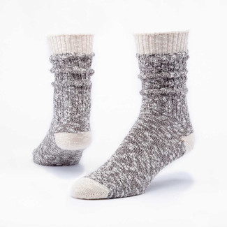 Organic Cotton Socks -  Ragg Heathered