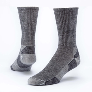 Organic Wool Socks - Urban Hiker Crew