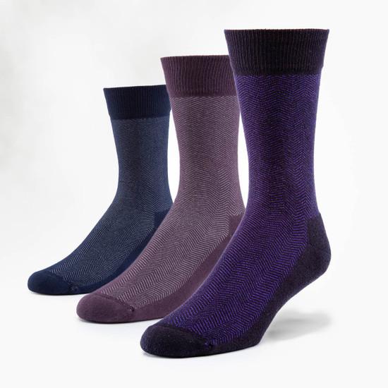 Organic Cotton Socks -  Cushion Dress 3 Pak