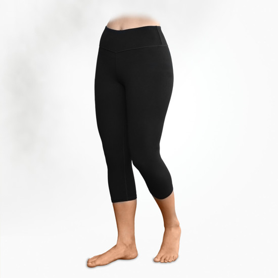 Organic Cotton Blackout Leggings - Midcalf - Clearance