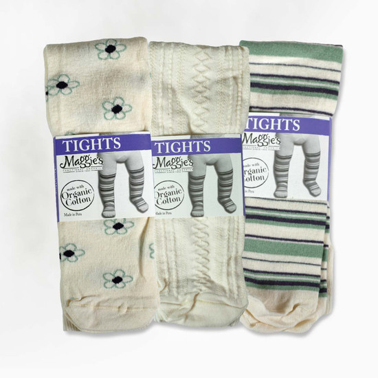 Organic Cotton Kids' Tights - Clearance