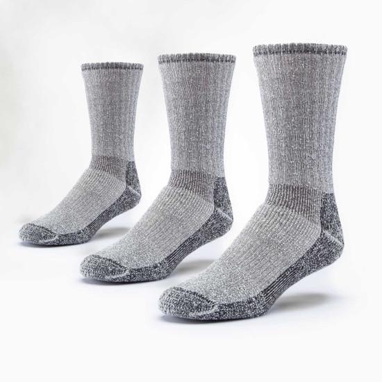 Organic Wool Socks - Mountain Hiker 3 Pak