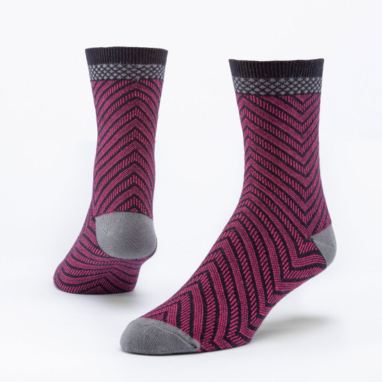 Organic Cotton Trouser Socks - Arrow