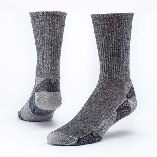 Organic Wool Socks - Urban Hiker Crew