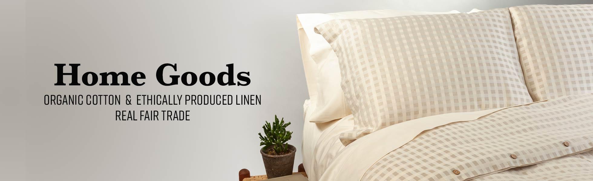 Organic Cotton Home Goods