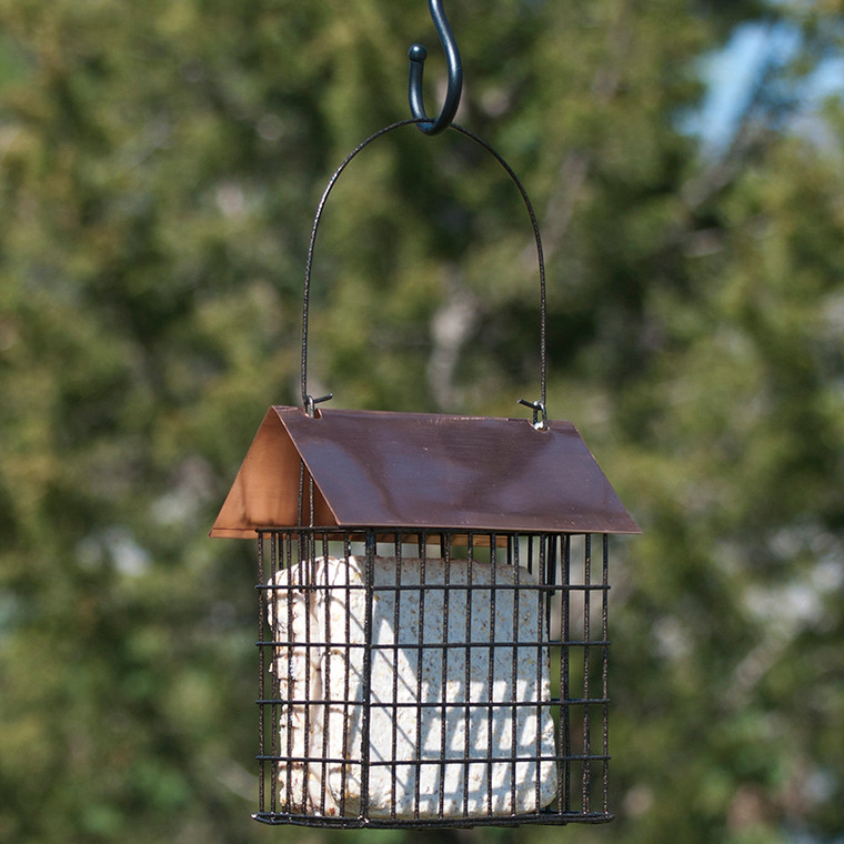 Woodlink Coppertop Double Suet Cage