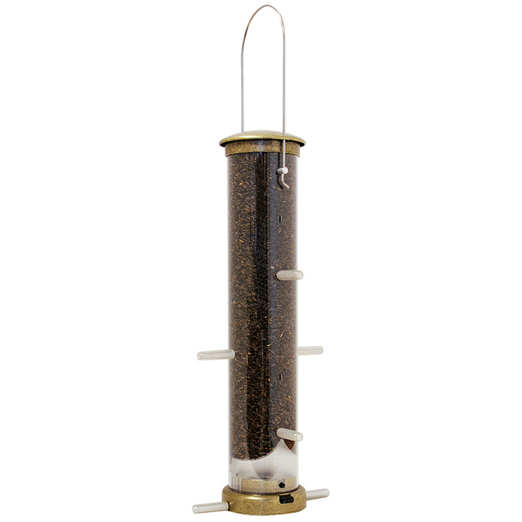 Quick-Clean Nyjer Feeder - Brass