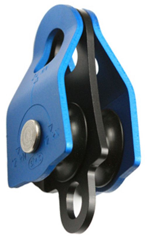 SMC JRB (Jigger Rescue) Pulley - With Becket - Blue