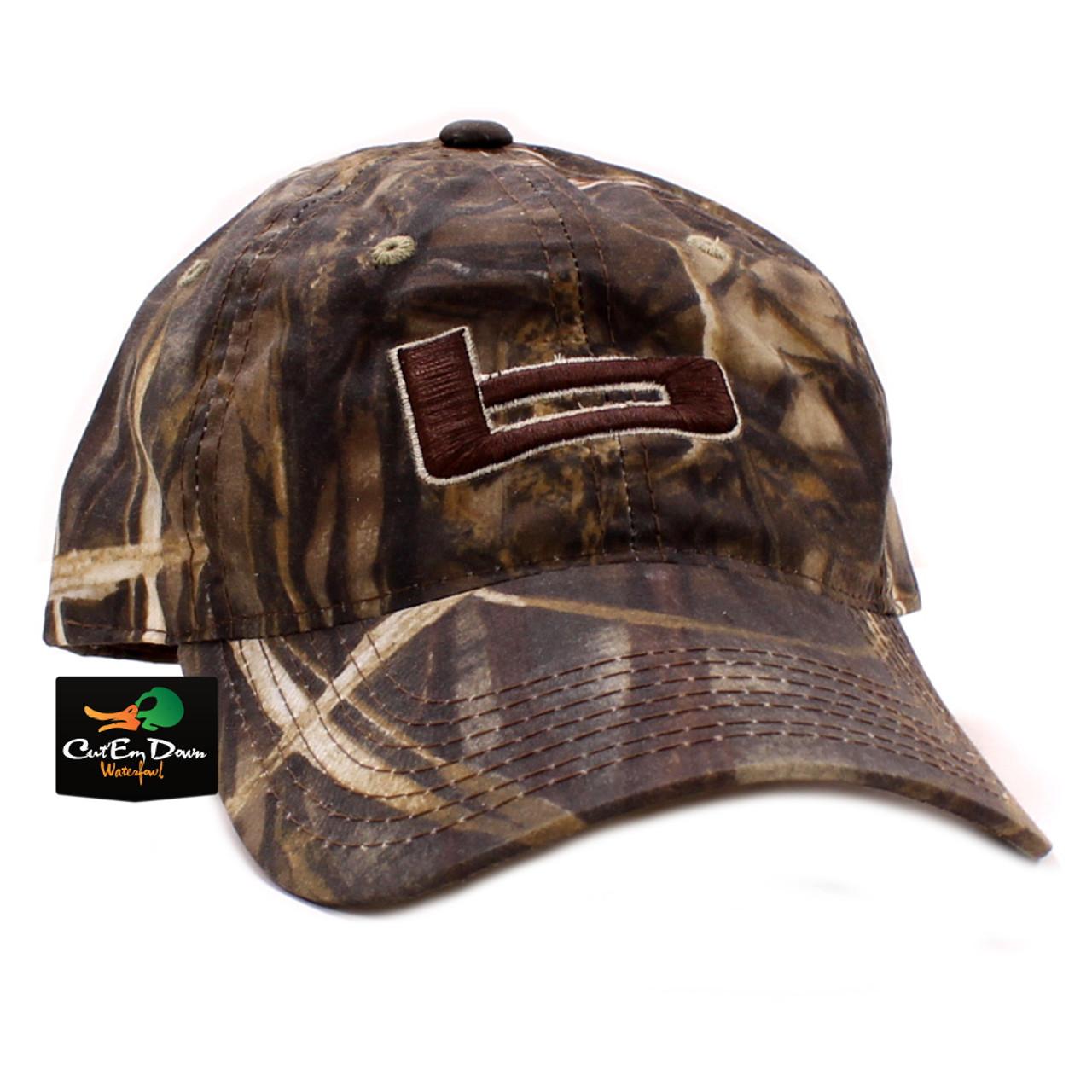 Banded Waxed Hunting Cap - Max-4 Camo ba36c6cc691d