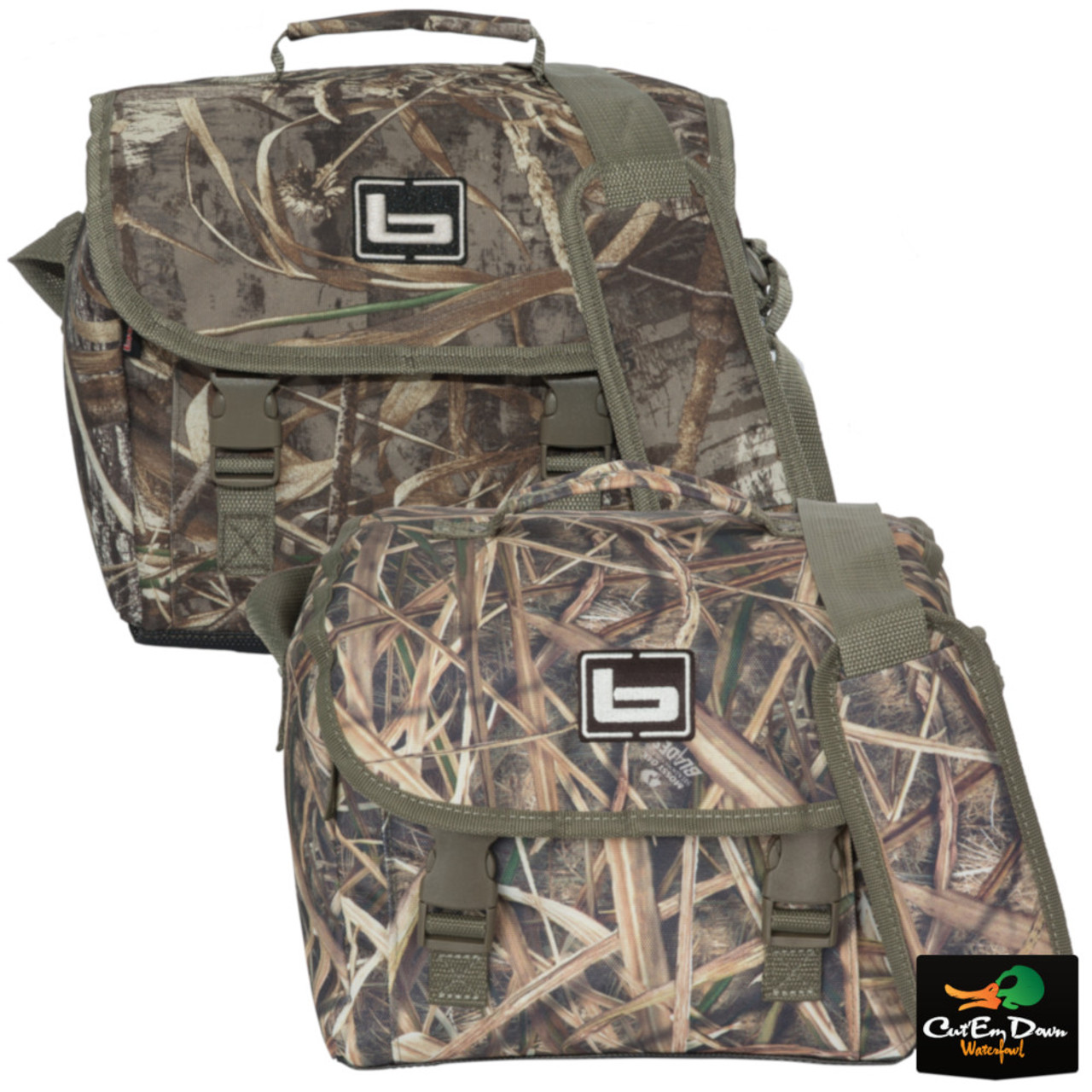 DUCK HUNTING CAMO STORAGE BLIND BAG NEW BANDED GEAR AIR HARD SHELL BACK PACK