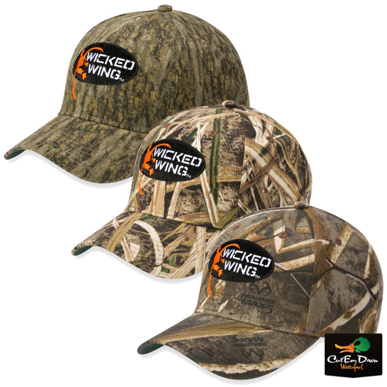 Browning Wicked Wing Camo Cotton Hat 07b24006540f