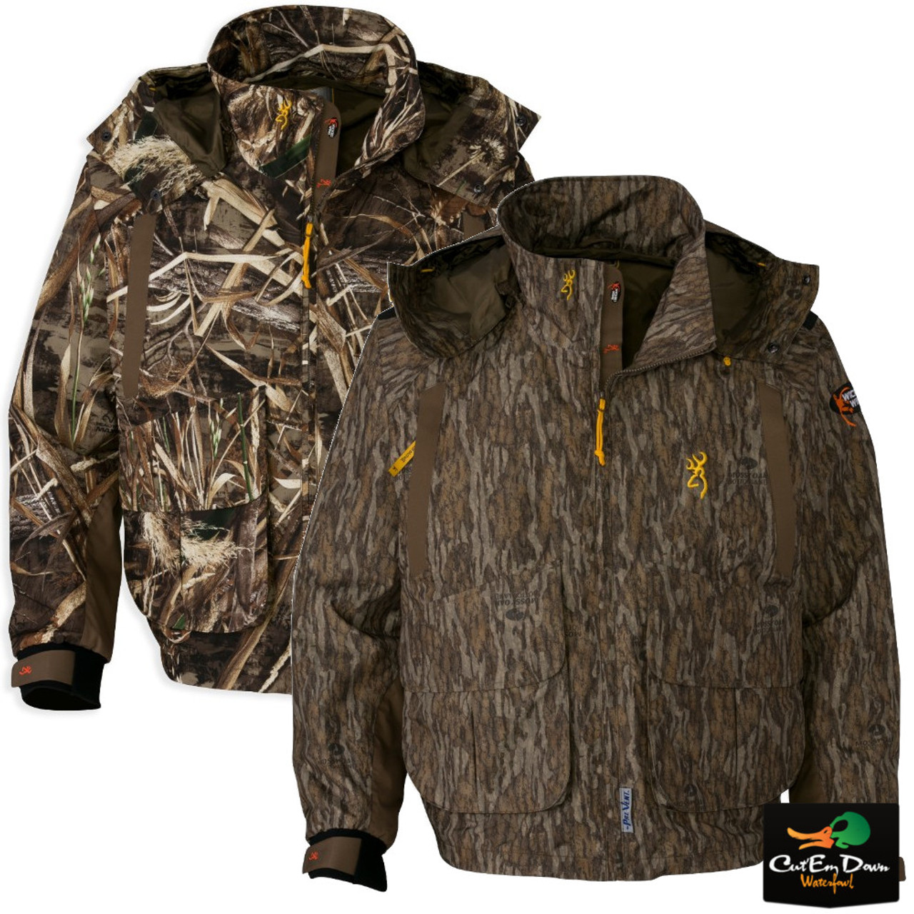 d20b58403bfdb Browning Wicked Wing Timber Wader Jacket