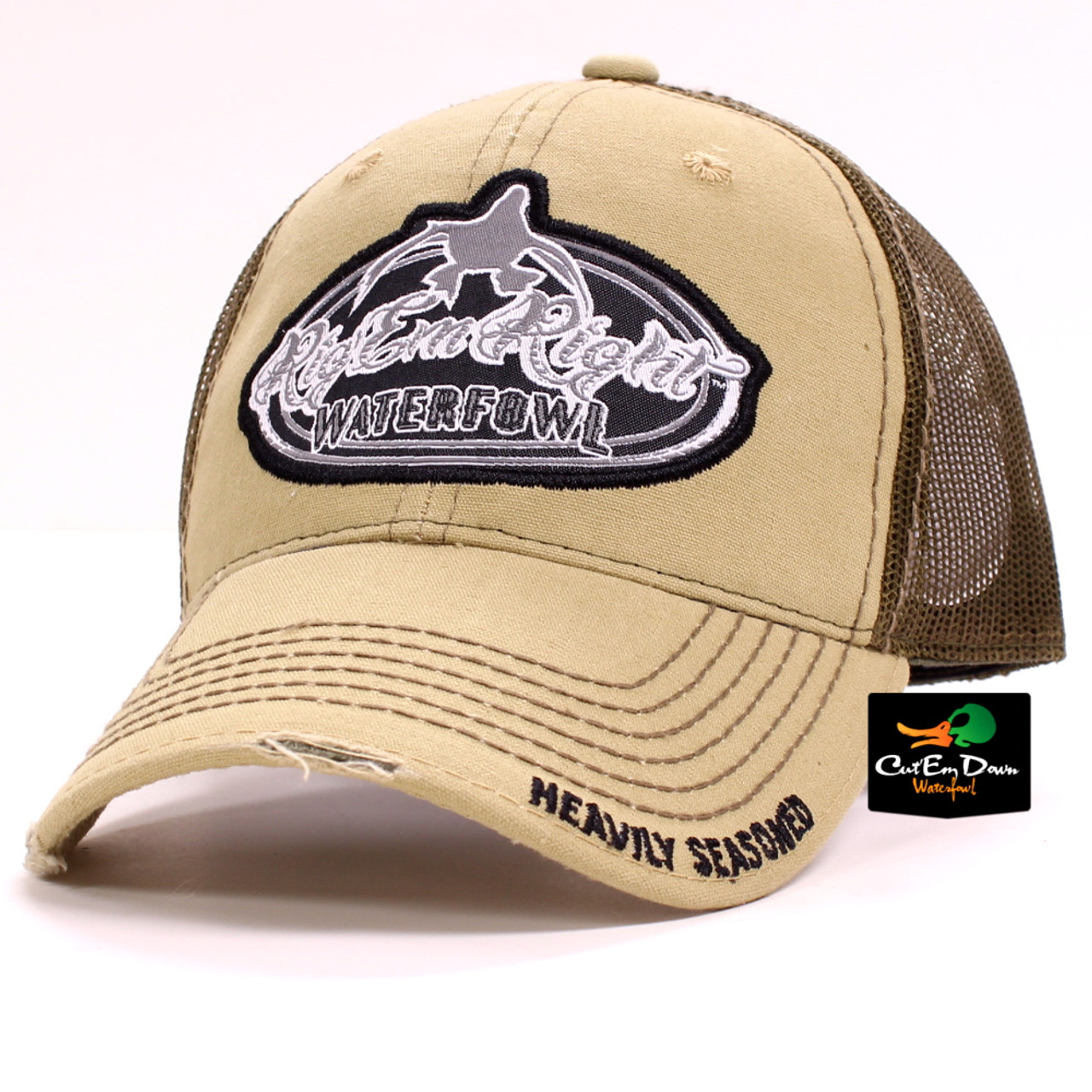 Rig Em Right Waterfowl Trucker Hat eafb8cdbeb8