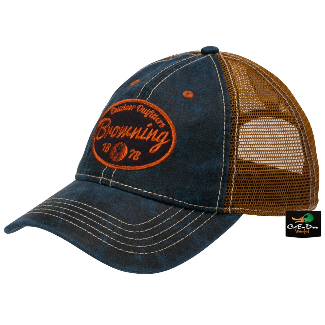 009f5b45ea0cf NEW BROWNING COOPER BUCKET HAT BOONIE CAP BUCKMARK LOGO BROWN Clothing