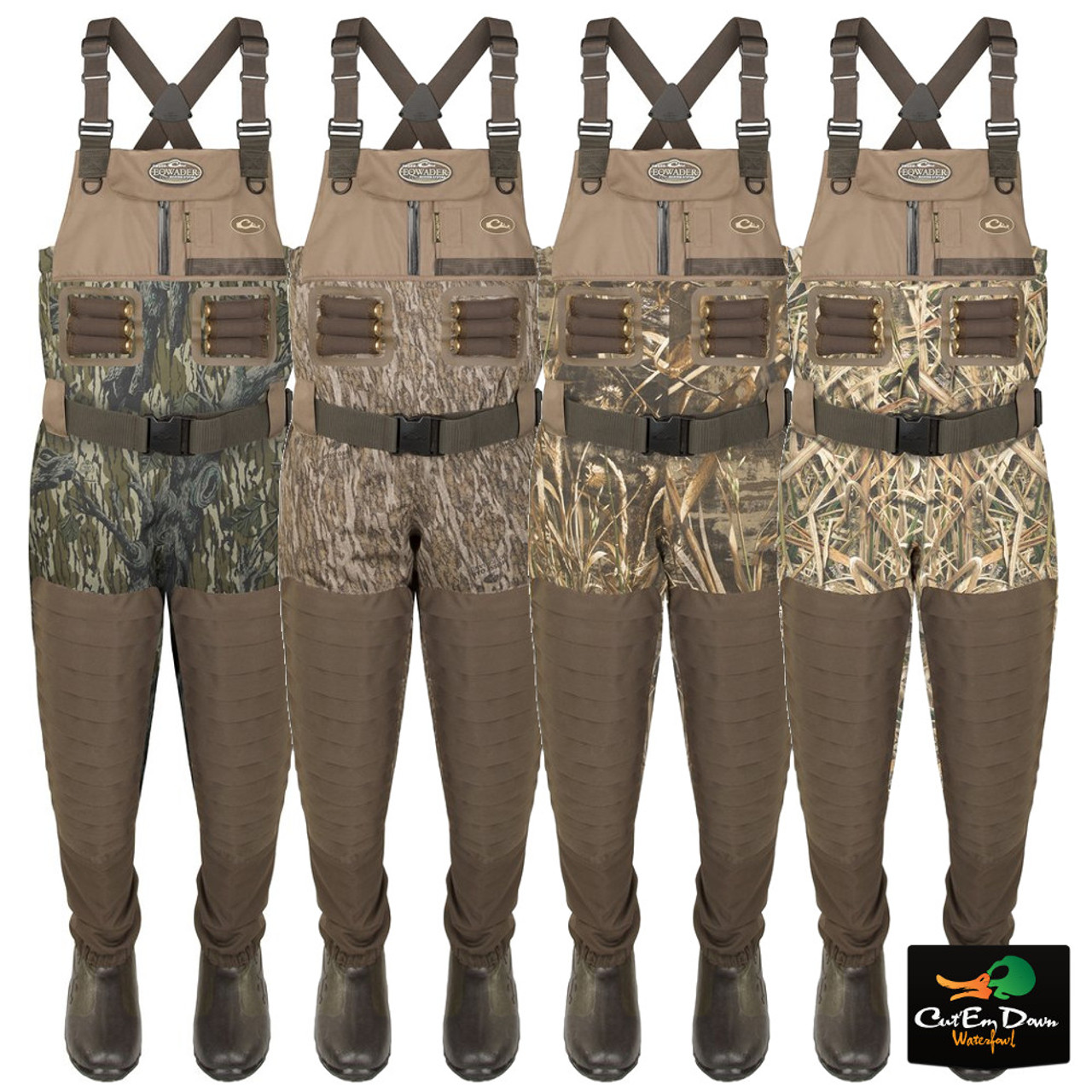 caefb4c1f60a4e Drake Waterfowl Guardian Elite Insulated Breathable Chest Waders
