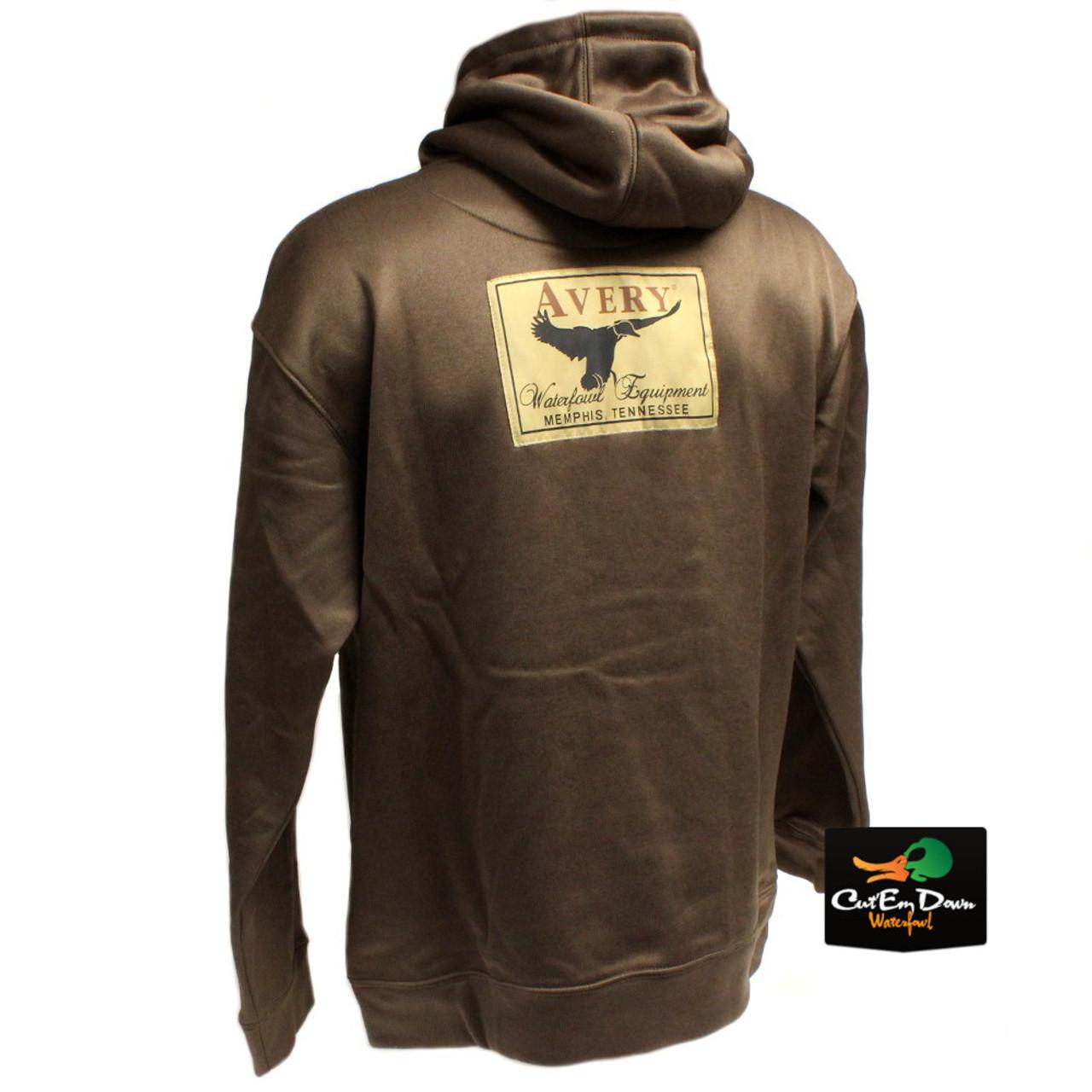 b9ec551f21090 Avery Outdoors Logo Hoodie - Marsh Brown