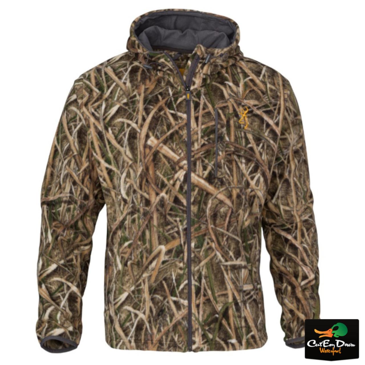 6a07a589c2eeb Browning Wasatch CB Fleece Jacket - Shadow Grass Blades