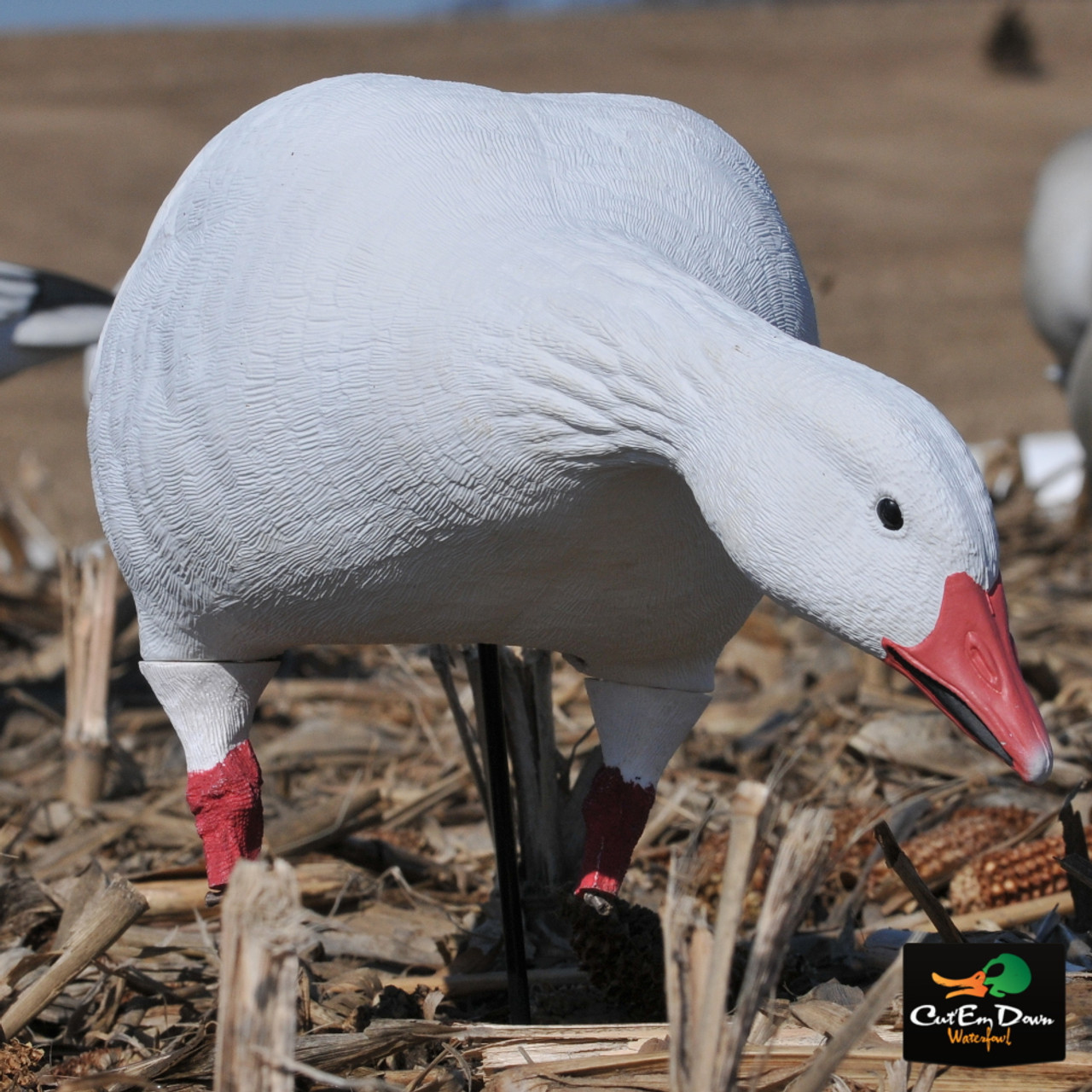 AVERY OUTDOORS GHG PRO-GRADE FULL BODY SNOW GOOSE DECOYS - FEEDER PACK