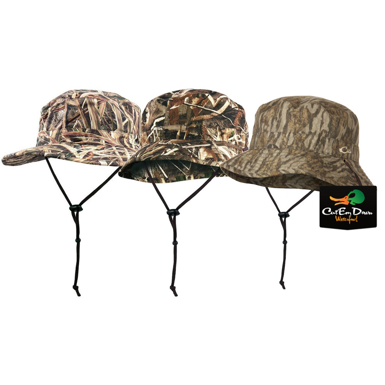 ad84064d28c Drake Waterfowl Waterproof Boonie Hat