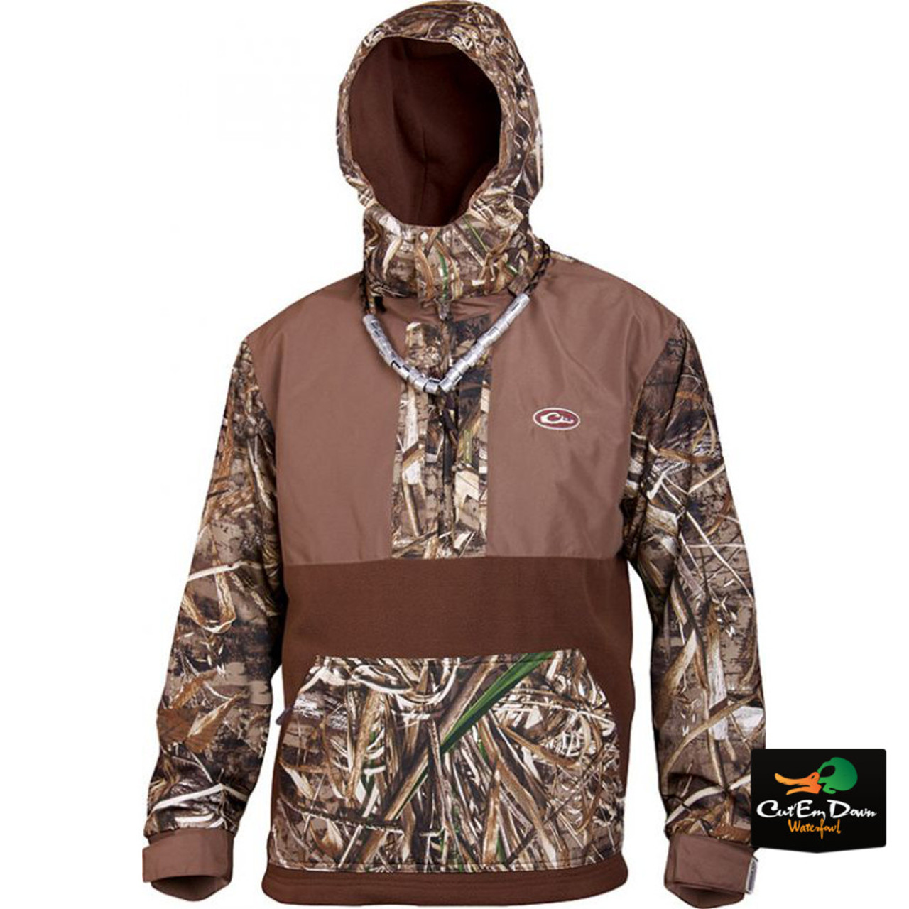 5396ce45be708 Drake Waterfowl MST Shooter's Quarter Zip Pullover