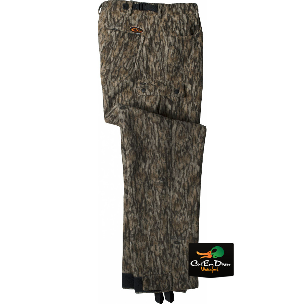 355a4b6629316 Drake Waterfowl Non-Typical Silencer Windproof Fleece Pants