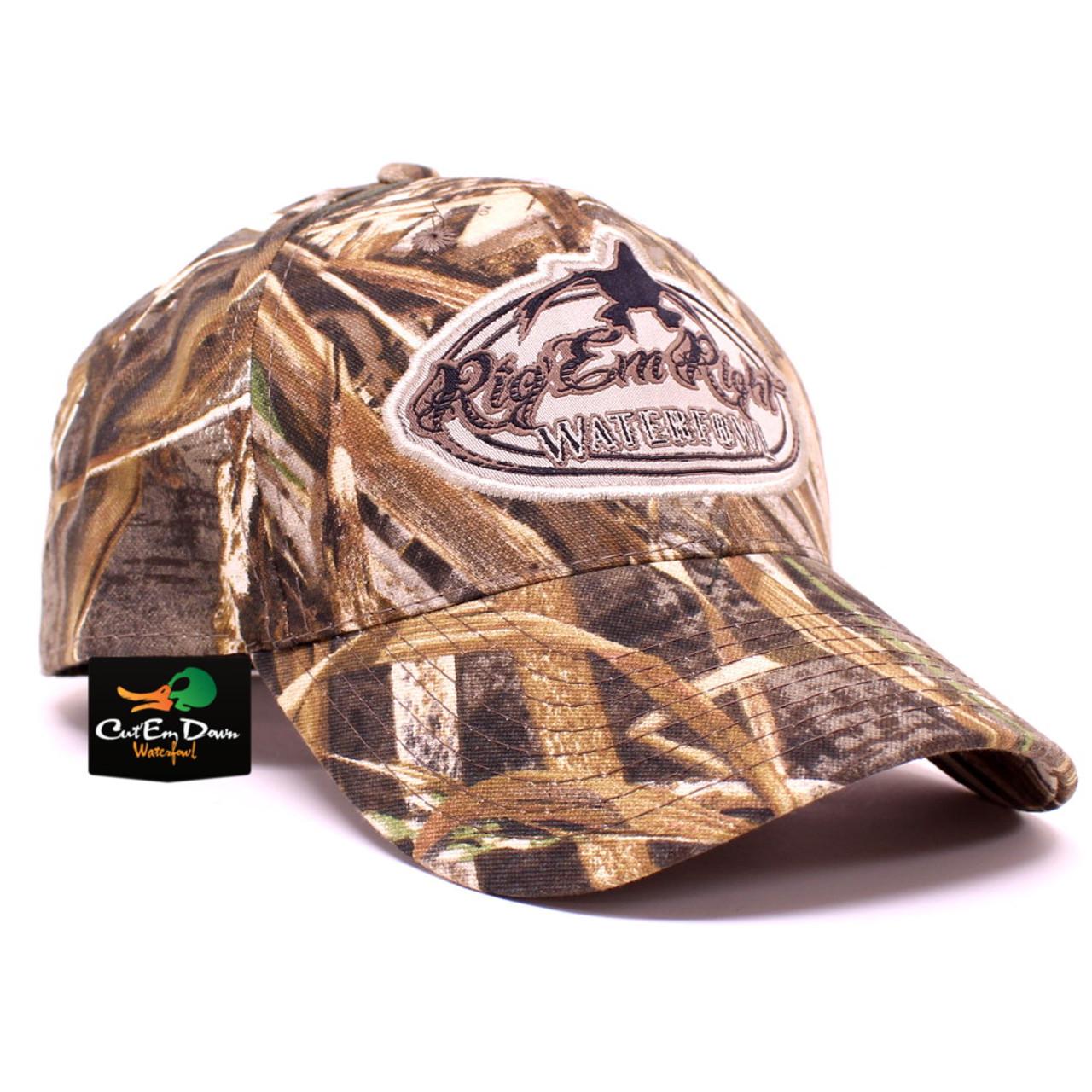 1eabbbccbc9 Rig Em Right Waterfowl Max-5 Camo Hat