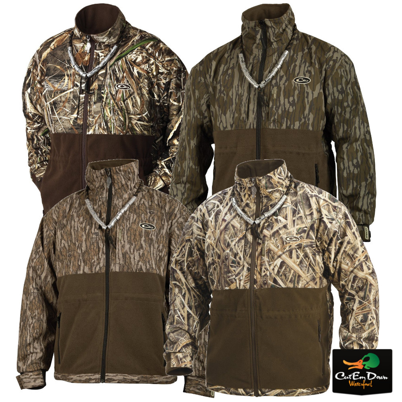 53df92f39006a Drake Waterfowl Eqwader Plus Full Zip