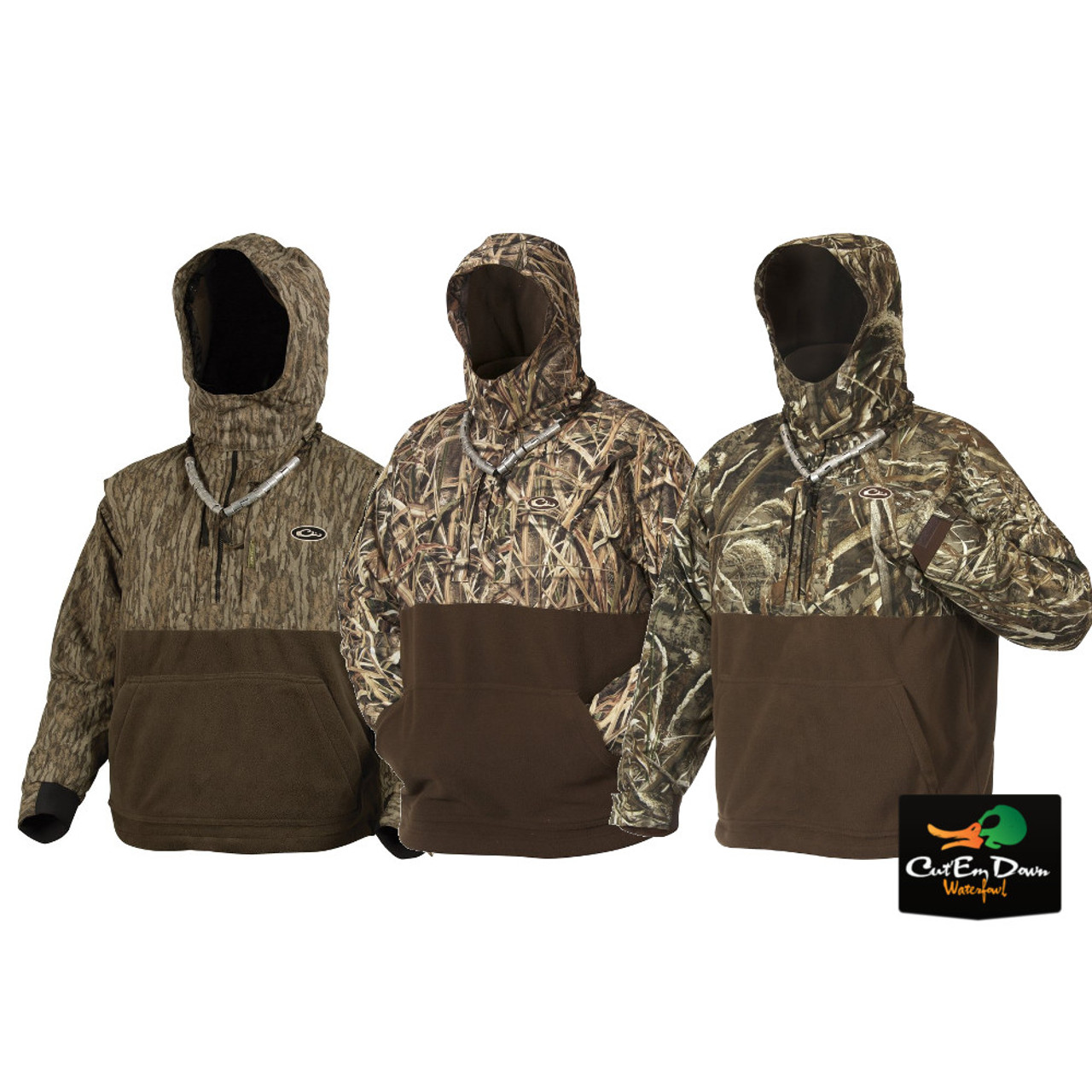 7bb2da9844234 Drake Waterfowl MST Eqwader Deluxe Quarter-Zip