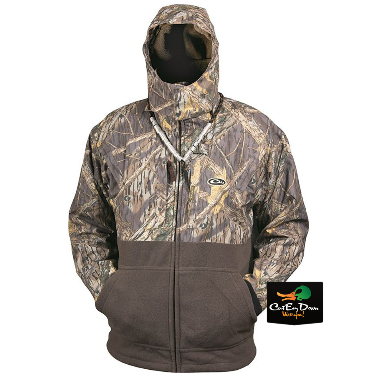 51d4f1392dc7b Shadow Branch · Drake Waterfowl Eqwader Deluxe Full Zip ...