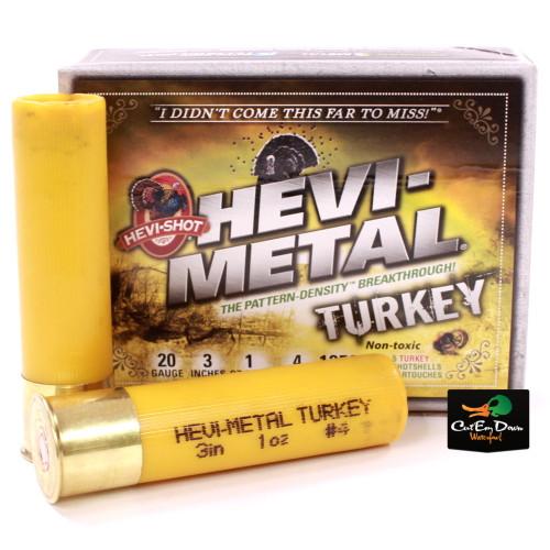HEVI SHOT HEVI-METAL TURKEY SHOTGUN AMMUNITION