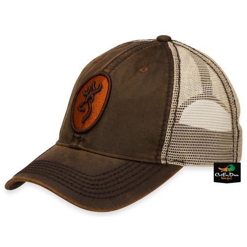 cdf05107 BROWNING CODY MESH BACK CAP - BROWN / TAN